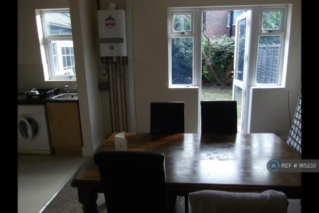 Lounge Kitchen On To Garden