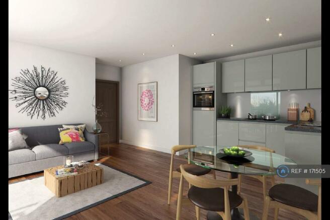 Lounge & Kitchen Area [Artists Imp}