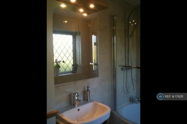 Bathroom, Power Shower