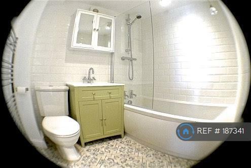 Bathroom Fisheye Lens