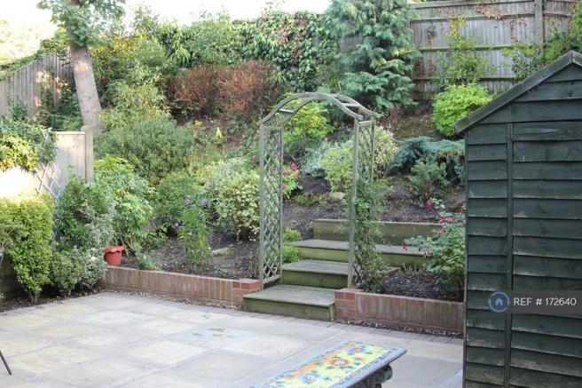 Patio With Landscaped Garden