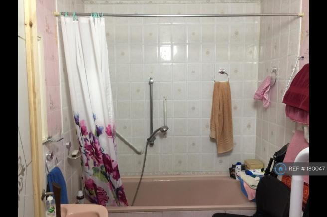 Bathroom With Toilet And Shower