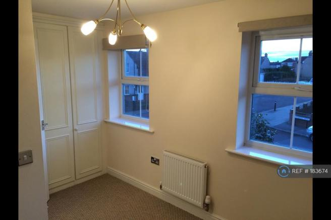 Bedroom With Wardrobes And Tv Point