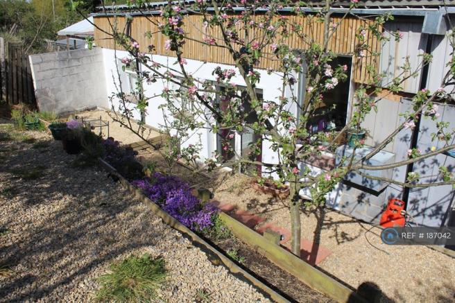 Rear Terraced  Patio