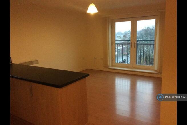 Open Plan Lounge/Kitchen With Patio Doors