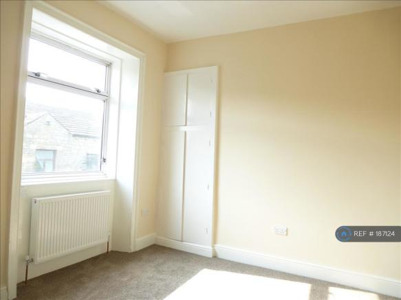 Unfurnished Bedroom With Cupboard