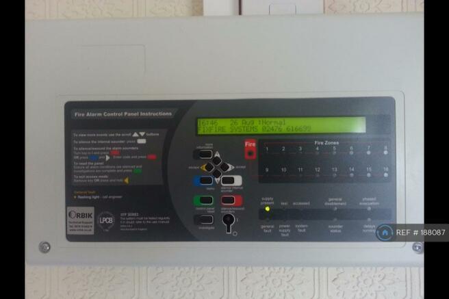 Fire Alarm Panel (Ground Floor)