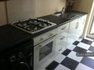 Kitchen With Gas Hobs And Cooker