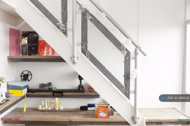 Desk / Stairs