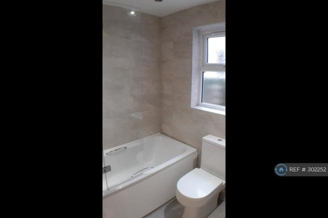 High-Spec Bathroom With Over Bath Shower