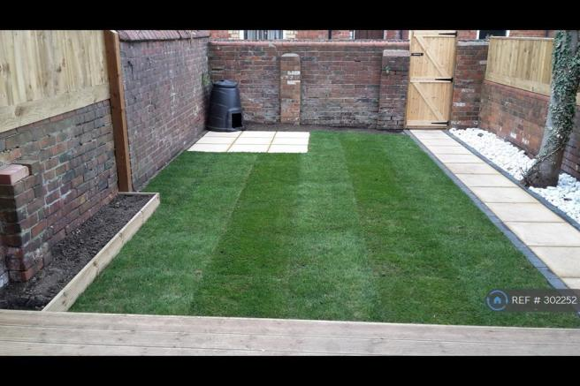 Decked And Landscaped Private Garden