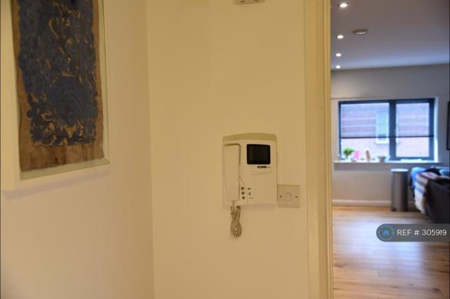 Video Phone Entry In Hallway