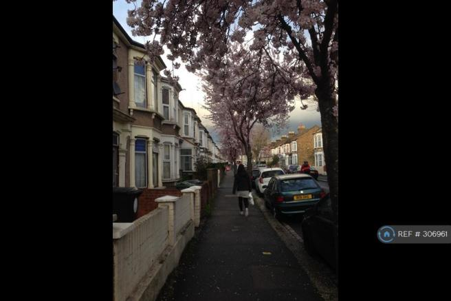 Great Street In Leyton