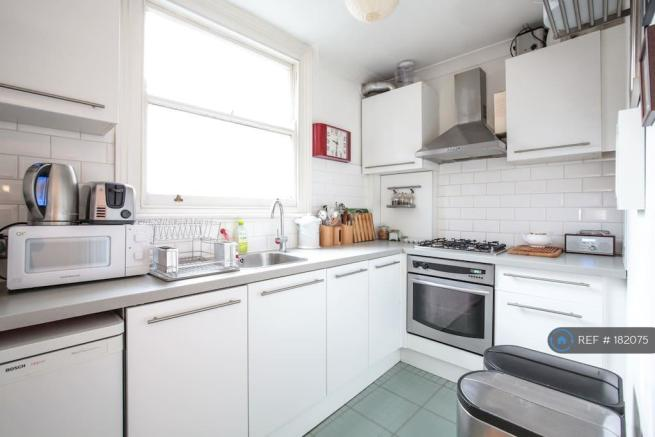 Kitchen With Moden Appliances