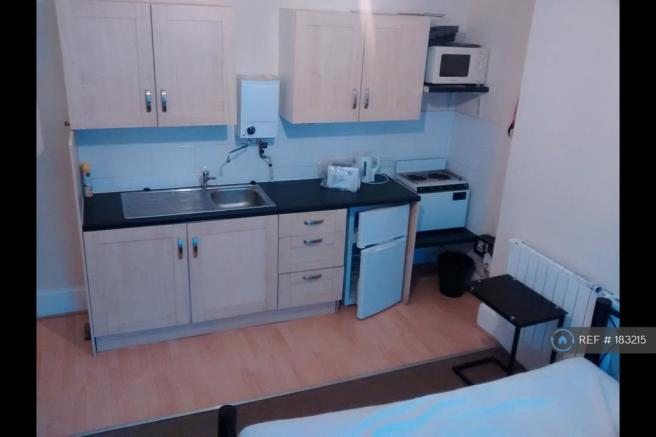 Kitchenette Within Room