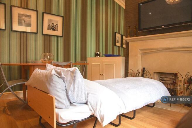 Living Room - Unfolded Guest Bed, Memory Foam