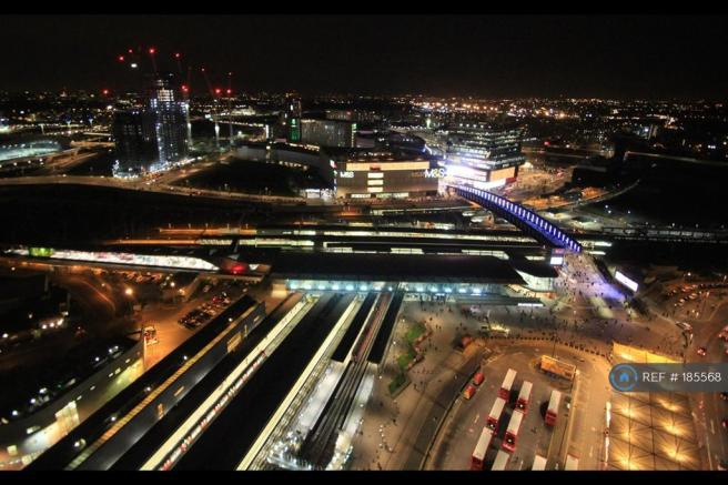 View Over Westfield And Olympic Park