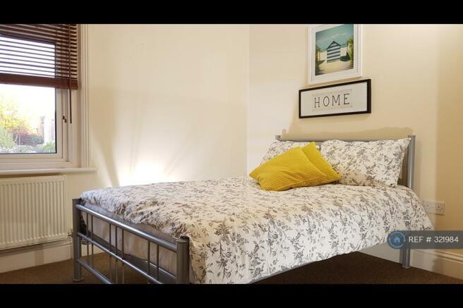 Bedroom No2: Quiet & Bright