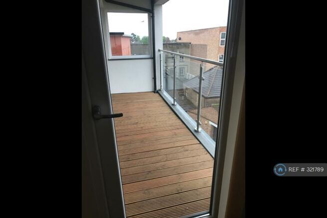 Wood Decking On Balcony