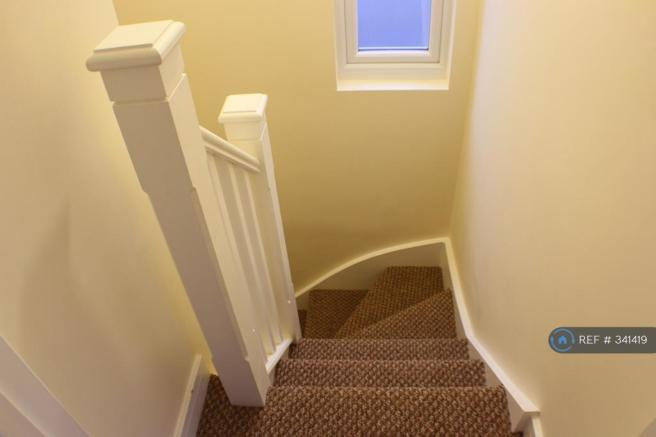 Stairs Leading Down From Loft