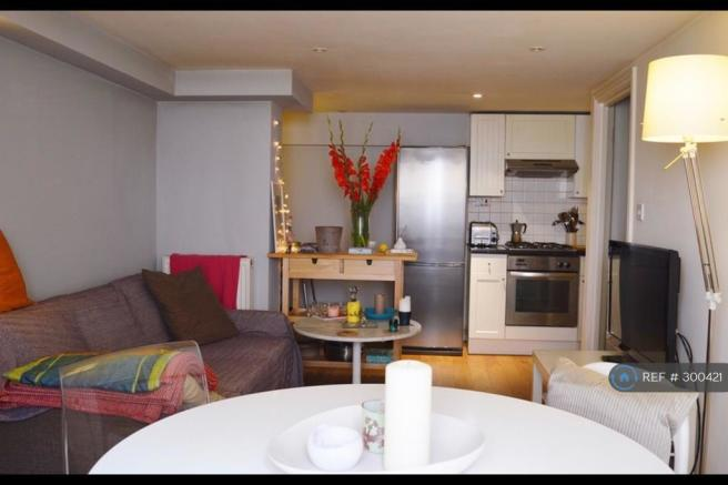 Kitchen Open Plan To Living Room