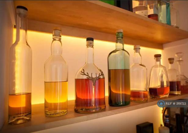 Backlit Drinks Shelf