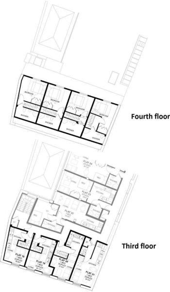 Third & fourth floor