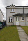 semi detached property in Back Faulds Place, Kelty...