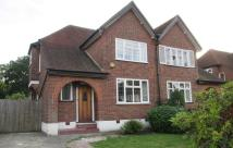 semi detached home to rent in Great Thrift, Petts Wood...