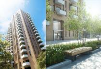 1 bed new Studio apartment for sale in Devas Street, London, E3