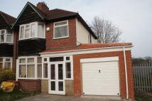 semi detached house to rent in Wolverhampton Rd South...