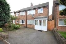Aubrey Road semi detached house to rent