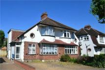 semi detached house in Widmore Lodge Road...