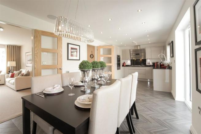 Actual image of the Downham Showhome at Winnington Village