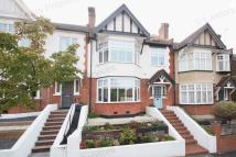 Terraced house in St Albans Crescent...