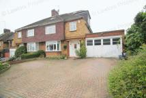4 bedroom semi detached house in Worcester Crescent...