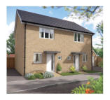 2 bedroom new house in Upper Cambourne...