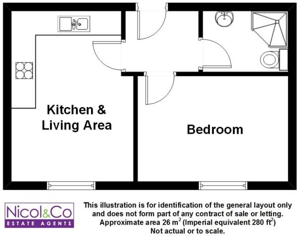 Floorplan Flat 5 46
