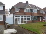 3 bedroom semi detached house to rent in Bromford Road...