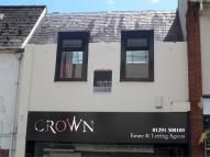 Flat to rent in High Street, Chepstow...
