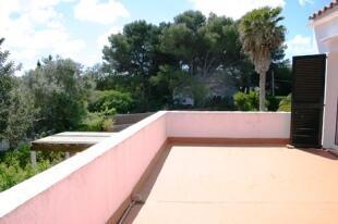 Upstairs balcony