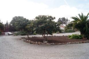 Large driveway