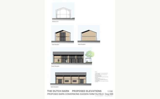 Dutch Barn Elevation