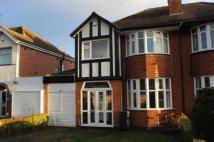 3 bedroom semi detached home in Keswick Road, Solihull...