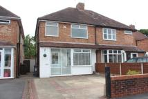 semi detached house to rent in Chamberlain Crescent...