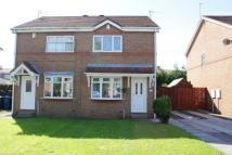 2 bed semi detached home in Foxglove Court...
