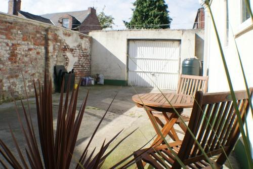 Private Rear Yard & Parking