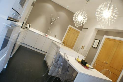 Contemporary Dining Kitchen
