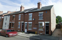 Terraced house in JAMES STREET, Nottingham...