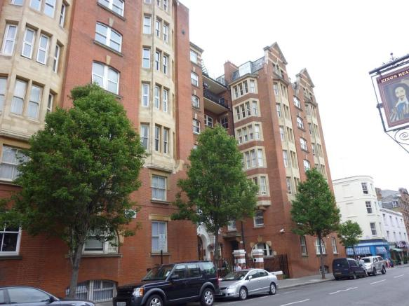 front side building